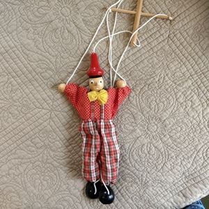 Wooded Pinocchio Puppet
